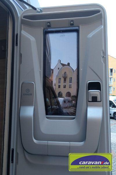 Knaus Van TI plus - neue Aufbautür
