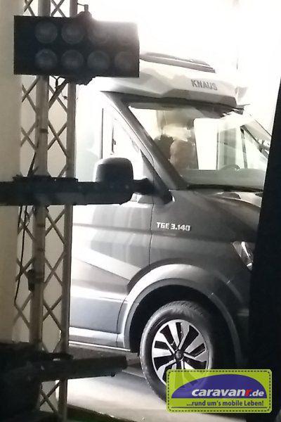 Knaus Van TI plus - hinter dem Vorhang