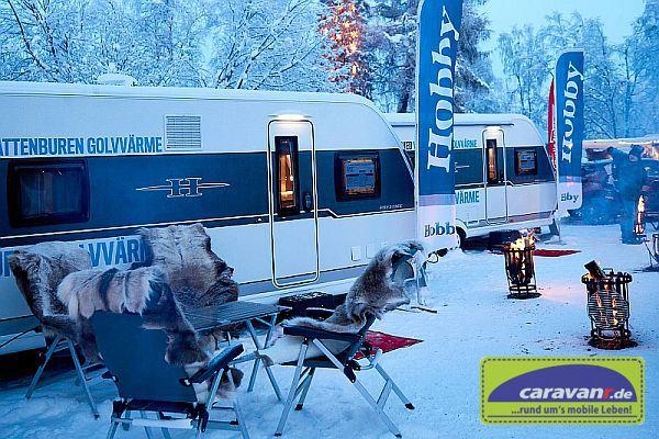 Hobby-Caravan-Wintertest 2018