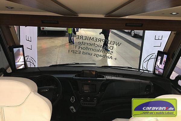 Erstes spiegelloses Reisemobil - innen