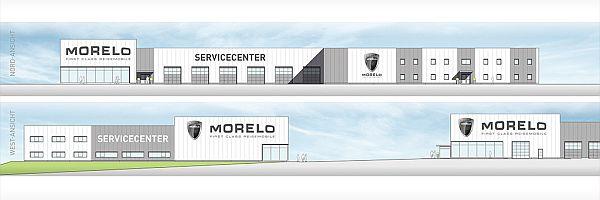 Morelo Servicecenter - Skizze
